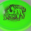 Hawg - green - champion - light-pink - 175g - 3311 - somewhat-domey - neutral