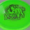 Hawg - green - champion - silver - 175g - 3311 - somewhat-domey - neutral