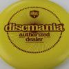 P1x - yellow - d-line - red - 175g - 3311 - super-flat - pretty-stiff