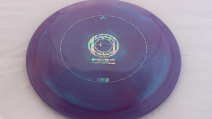&50 Spectrum F1 by prodigy Purple and Blue swirls with oil slick stamp OTB