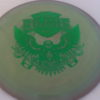 Eagle - Swirly Star - Gregg Barsby - green - 175g - 3311 - somewhat-domey - neutral