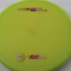 Breaker - yellowgreen - proline - rainbow-pinkorangeyellow - 304 - 173g - super-flat - somewhat-gummy