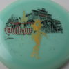 Outlaw - Glow - 5 Year Anniversary - black - gold - red - 175-176g - 3311 - somewhat-flat - neutral