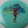 Outlaw - Glow - 5 Year Anniversary - blue - red - gold-holographic - 175g - 3311 - somewhat-flat - neutral