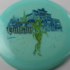 Outlaw - Glow - 5 Year Anniversary - blue - green-lines - black - 175g - 3311 - neutral - neutral