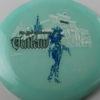 Outlaw - Glow - 5 Year Anniversary - white - blue - black - 175g - 3311 - somewhat-flat - neutral