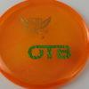 Clutch - Pinnacle - orange - pinnacle - gold - green-lines - 175g - super-flat - somewhat-gummy