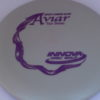Aviar - Glow Pro - James Conrad - purple - 175g - somewhat-puddle-top - neutral