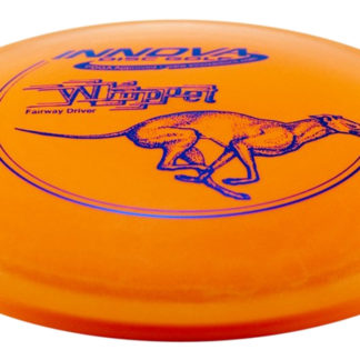 Innova Whippet Orange DX with purple stamp