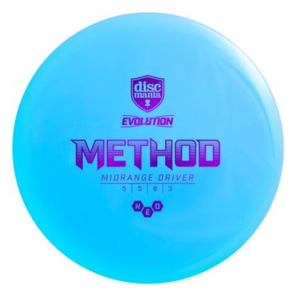 Discmania Evolution Method Blue with Purple stamp
