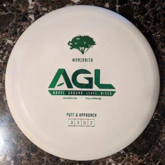 AGL Manzanita White with green stamp