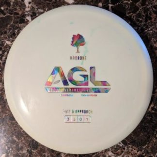 AGL Discs Madrone White with acid party time stamp