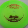 Shryke - Champion - light-green - champion - red - 304 - 168g - 3311 - somewhat-domey - neutral