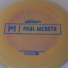 Zeus - Paul McBeth Prototype - blue-mini-dots-and-stars - 173-175g - 3311 - slight-dome-to-a-puddle-top-center - somewhat-stiff