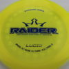 Raider - Lucid - yellow - blue - white - 174g - somewhat-domey - neutral