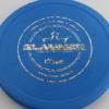 Slammer - blue - classic - silver-fracture - 174g - 3311 - super-flat - pretty-stiff