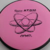 Atom - pink - electron-soft - black - black - 174g - pretty-flat - somewhat-gummy