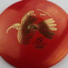 Huia - red - atomic - gold - 172g - somewhat-domey - neutral