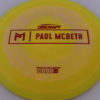 Anax - Paul McBeth Prototype - red - 175-176g - 3311 - somewhat-domey - somewhat-stiff