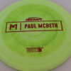 Anax - Paul McBeth Prototype - red - 175-176g - 3311 - somewhat-domey - neutral