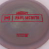 Anax - Paul McBeth Prototype - red - 167-169g - 3311 - somewhat-domey - neutral