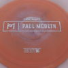 Anax - Paul McBeth Prototype - silver-squares - 173-175g - 3311 - neutral - somewhat-stiff