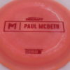 Anax - Paul McBeth Prototype - red - 173-175g - 3311 - neutral - neutral