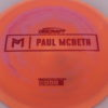 Anax - Paul McBeth Prototype - red - 173-175g - 3311 - somewhat-domey - neutral