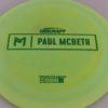 Anax - Paul McBeth Prototype - green-fracture - 173-175g - 3311 - somewhat-domey - somewhat-gummy
