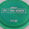 Anax - Paul McBeth Prototype - silver - 175-176g - 3311 - somewhat-domey - neutral