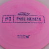 Anax - Paul McBeth Prototype - purple-silver-spotted-blocks - 173-175g - 3311 - somewhat-domey - neutral