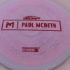 Anax - Paul McBeth Prototype - red - 170-172g - 3311 - somewhat-domey - neutral