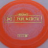 Anax - Paul McBeth Prototype - gold - 175-176g - 3311 - somewhat-domey - neutral