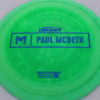 Anax - Paul McBeth Prototype - blue - 175-176g - 3311 - somewhat-domey - somewhat-gummy