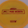 Anax - Paul McBeth Prototype - red - 170-172g - 3311 - somewhat-flat - neutral