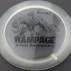 Rampage - 5th Anniversary - clear - 5-year-pinnacle - black - 175g - somewhat-flat - pretty-gummy