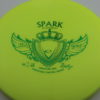 Spark - yellowgreen - gold - green - 174g - neutral - neutral