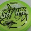 Shark - Luster Champion - 30th Anniversary - green - black - silver-stars - 180g - pretty-domey - neutral