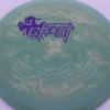 Ghost - Swirly Icon - Flat Top - purple - 180g - pretty-flat - somewhat-stiff