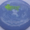 Ghost - Swirly Icon - Flat Top - green-lines - 180g - pretty-flat - somewhat-stiff