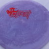 Ghost - Swirly Icon - Flat Top - red-lines - 180g - pretty-flat - somewhat-stiff