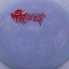 Ghost - Swirly Icon - Flat Top - red-lines - 180g - 3311 - pretty-flat - somewhat-stiff
