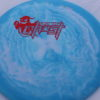 Ghost - Swirly Icon - Flat Top - red-lines - 180g - somewhat-flat - somewhat-stiff