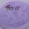 Ghost - Swirly Icon - Flat Top - acid-party-time-circles - 179g - pretty-flat - somewhat-stiff