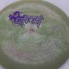 Ghost - Swirly Icon - Flat Top - purple - 180g - somewhat-flat - somewhat-stiff