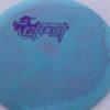 Ghost - Swirly Icon - Flat Top - purple - 180g - somewhat-flat - pretty-stiff