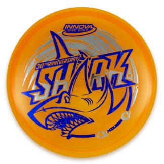 Innova 30th Anniversary Shark Luster Champion Orange with blue and silver stamp