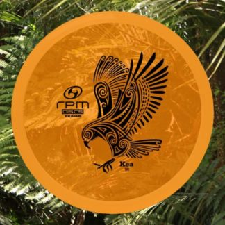 RPM Kea Orange Cosmic plastic with black stamp