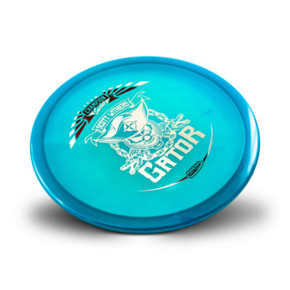 Withers Gator - Blue with 2 foil stamp