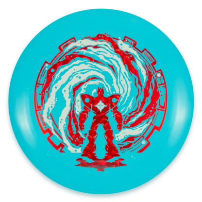Stargate XXL Destroyer - Blue with Red/White foil stamp